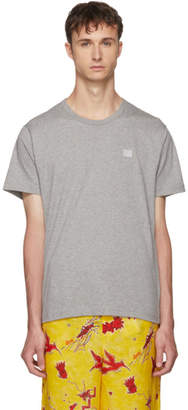Acne Studios Grey Nash Face T-Shirt