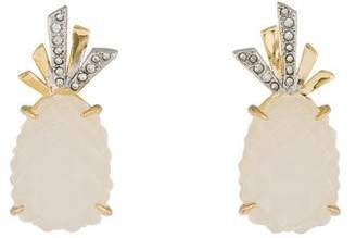 Alexis Bittar Pineapple Clip-On Earrings
