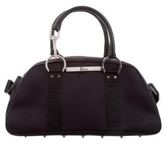 Christian Dior Canvas Crossbody Bag