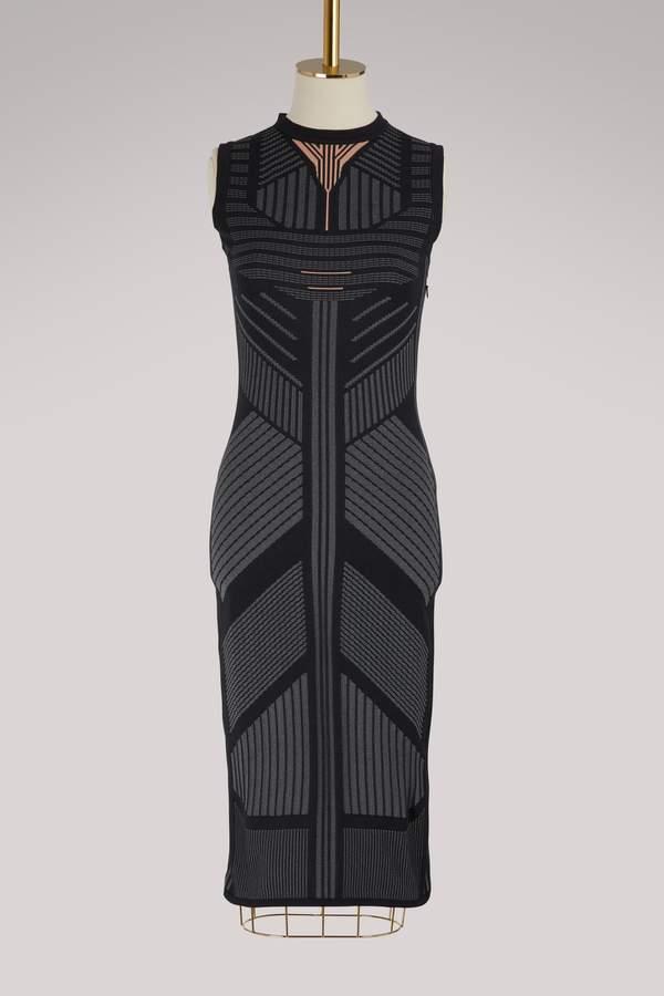 Prada Sleeveless nylon-tech dress
