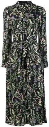 Goat Geneva botanical print dress
