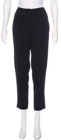 Kate Spade New York Mid-Rise Straight-Leg Pants w/ Tags