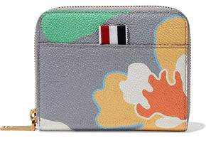 Thom Browne Printed Pebbled-Leather Wallet