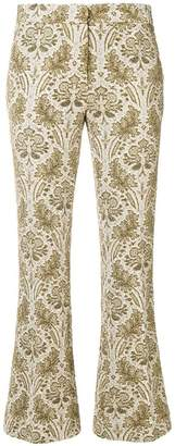 Semi-Couture Semicouture flared cropped trousers
