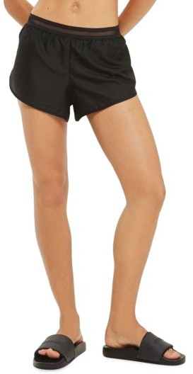 Women's Ivy Park Logo Perforated Runner Shorts