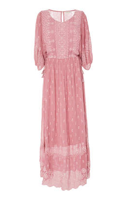 LoveShackFancy Cecily Maxi Dress