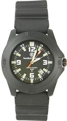 Smith & Wesson Men's SWW-12T-R Soldier Tritium H3 Rubber Strap Watch