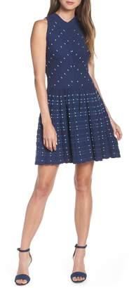 Adelyn Rae Skye Fit & Flare Sweater Dress