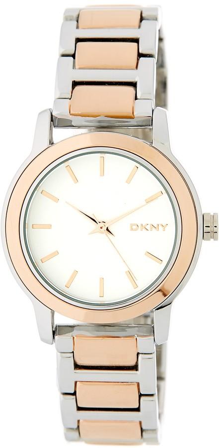 DKNYDKNY Women's Tompkins Mirror Finish Bracelet Watch