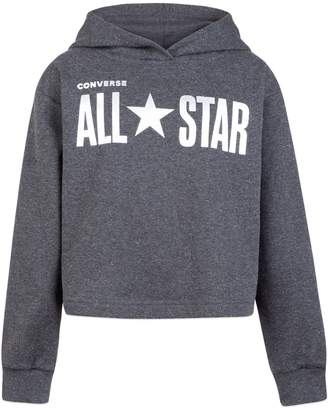 Converse Girl's All-Star French Terry Cropped Hoodie