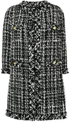Edward Achour Paris tweed coat