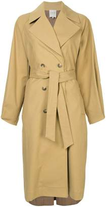 Sea button front trench
