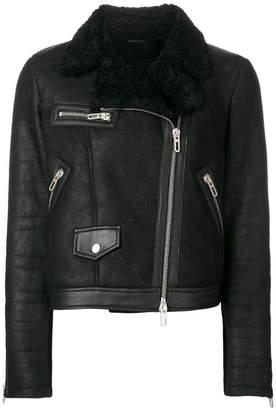 Drome off-centre zipped jacket