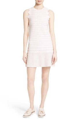 Women's Ted Baker London Relioa Metallic Jacquard Knit Dress $279 thestylecure.com
