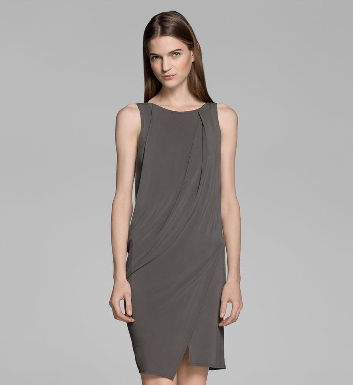 Helmut Lang Melody Cape Dress