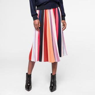 Women's 'Sunray-Stripe' Pleated Skirt $995 thestylecure.com