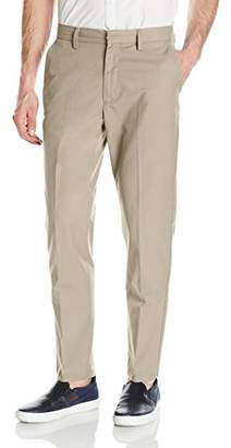 Nautica Men's Flat Front Slim Fit Twill Chino Pant