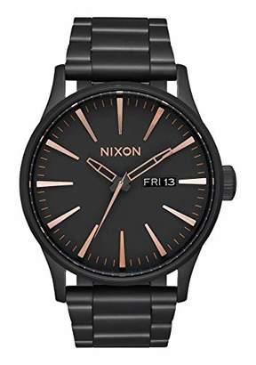 Nixon Men's 'Sentry SS' Quartz Stainless Steel Casual Watch
