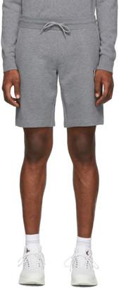 Moncler Grey Logo Shorts