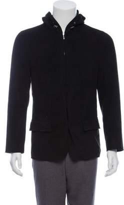 HUGO BOSS Hugo by Woven Zip-Up Jacket