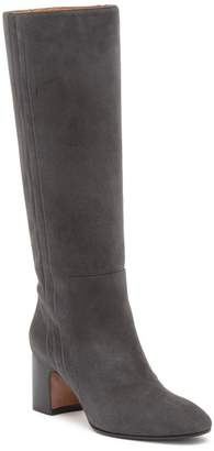 Aquatalia Eve Weatherproof Suede Knee-High Boot