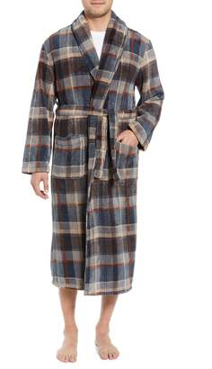 Majestic International Mountains of Comfort Shawl Fleece Bath Robe