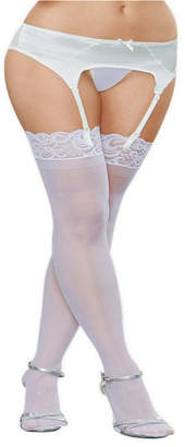 Dreamgirl Lace Top Sheer Thigh High