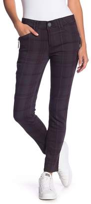 Democracy Plaid Side Zip Jeggings (Petite)