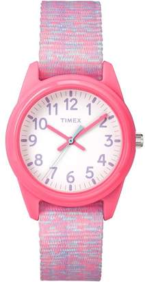 Timex Kids Time Machines Children's Pink Nylon Strap Watch