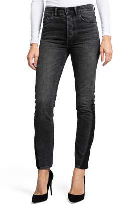 PRPS AMX Two-Tone High Waist Skinny Jeans