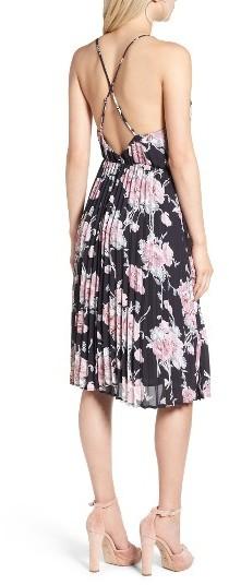 Women's Leith Surplice Floral Print Midi Dress 2
