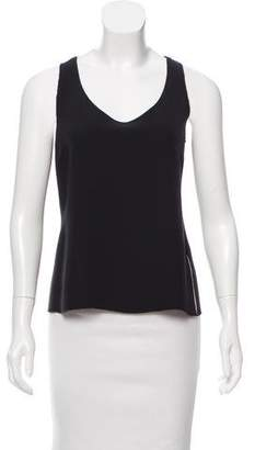 Armani Collezioni Sleeveless Scoop Neck Top