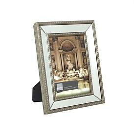 Profile Etoile Champagne 5 x 7 Mirror Photo Frame