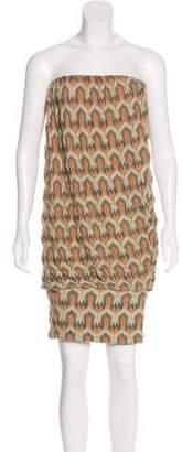 Missoni Strapless Knit Dress