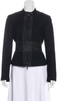 Akris Punto Zip-Up Wool Jacket