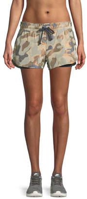 Koral Activewear Sand Damask Running Shorts