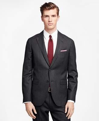 Chalk Stripe Suit Jacket $498 thestylecure.com