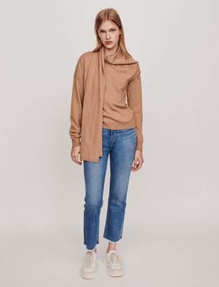 Maje Knotted crewneck sweater