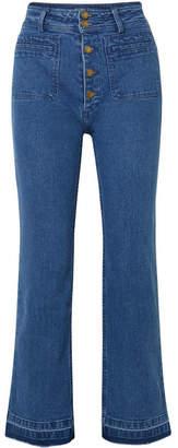 Apiece Apart Marston High-rise Straight-leg Jeans