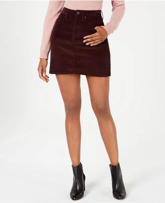Calvin Klein Jeans Corduroy Mini Skirt