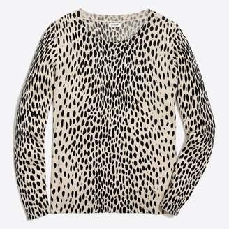 J.Crew Leopard Teddie sweater