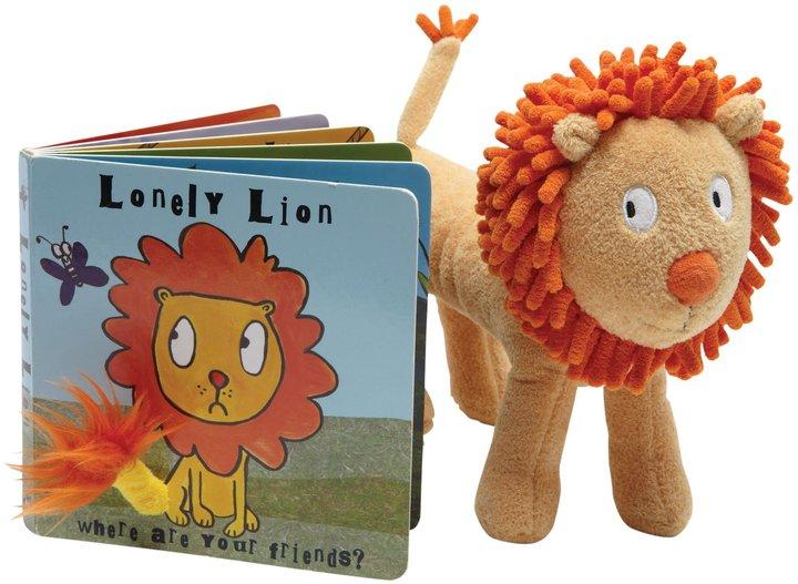 Jellycat Lonely Lion Board Book + Plush