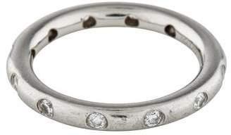 Tiffany & Co. Platinum Diamond Stacking Band