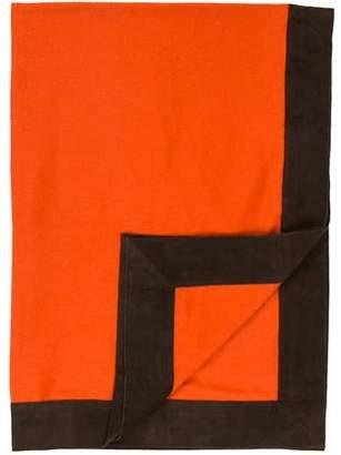 Arabella Rani Cashmere & Suede Throw Blanket