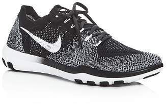 Nike Women's Free Focus Flyknit 2 Lace Up Sneakers