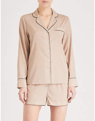 Stella McCartney Poppy Snoozing stretch-silk pyjama set