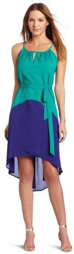 Tiana B Women's High Low Halter Dress