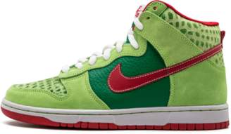 Nike Dunk High Pro SB 'Dr. Feelgood' - Forest/Varsity Red