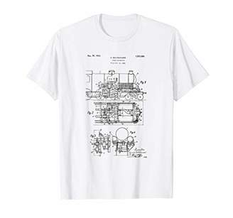 Steam Locomotive Patent T-Shirt