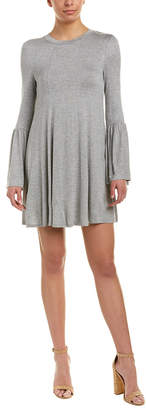 BCBGeneration Bell-Sleeve Shift Dress